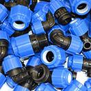 Водопроводные компрессионные фитинги и краны