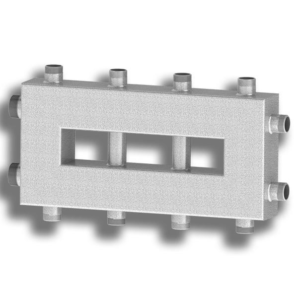 Гидравлический разделитель совмещённый с коллектором Север-Компакт+ фото2