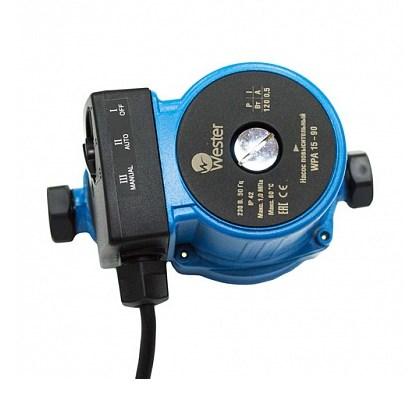 Повысительный насос для водоснабжения Wester WPA 15-90 фото1