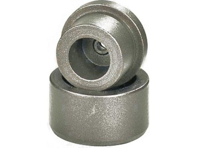 Насадка 25 мм  для сварочного аппарата для полимерных труб, серый тефлон   РосТурПласт (Сменный нагреватель 25 мм) фото1