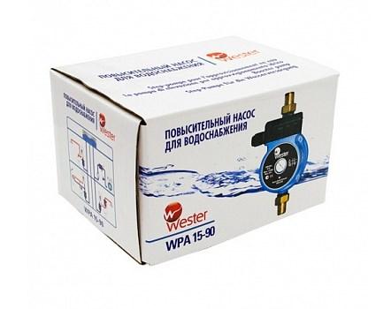 Повысительный насос для водоснабжения Wester WPA 15-90 фото3
