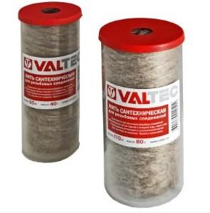 Нить сантехническая льняная VALTEC лён 110 м 80 г  VT.FLAX.0.110 фото1