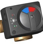 Электрический сервомотор 220 В со встроенным термостатом 20 – 80 °С Meibes 66341.33