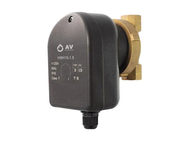 Насос циркуляционный AVE-COMFORT-HWH15-1.5, AV Engineering рециркуляция ГВС фото1