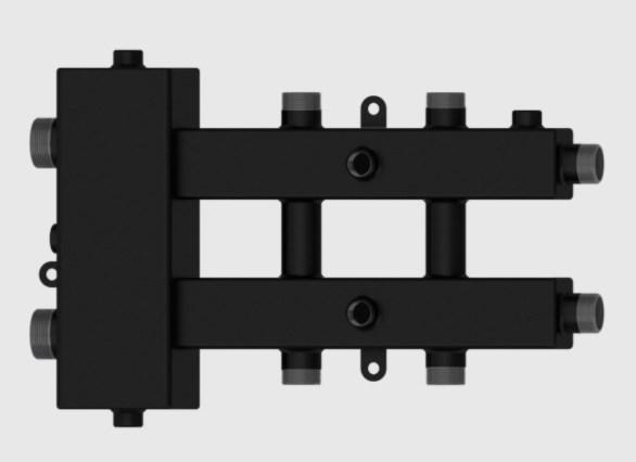 Гидравлический разделитель совмещённый с коллектором Север-М3 фото3