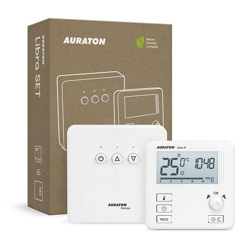 Беспроводной недельный терморегулятор AURATON LIBRA SET [3021 RT] фото1