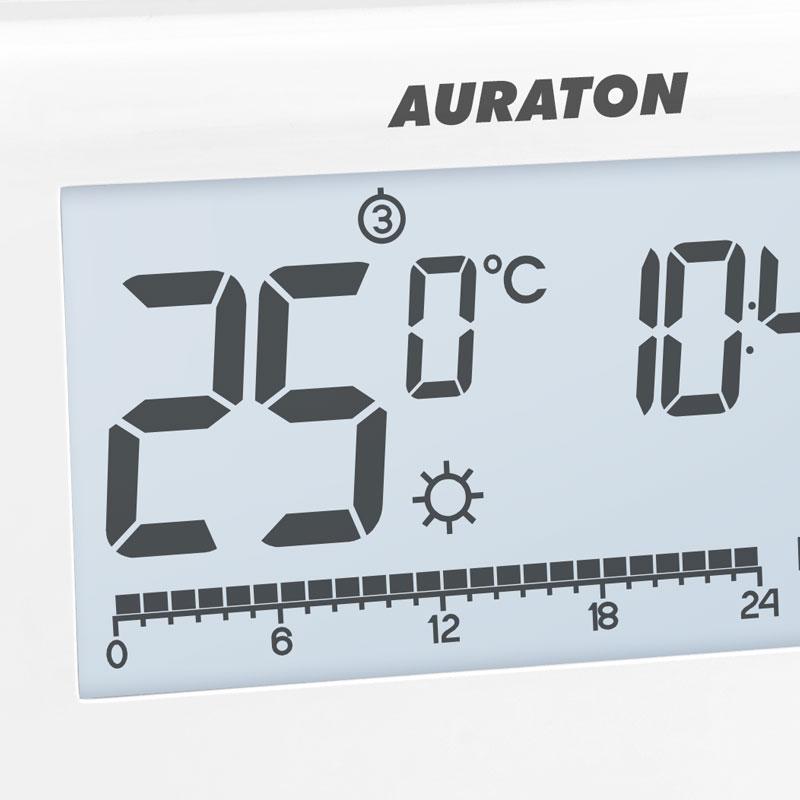 Беспроводной недельный терморегулятор AURATON LIBRA SET [3021 RT] фото2