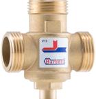 "Термостатический клапан Barberi Woody 45 гр. Kv 3,2 НР 1"" арт.V13M2500A"