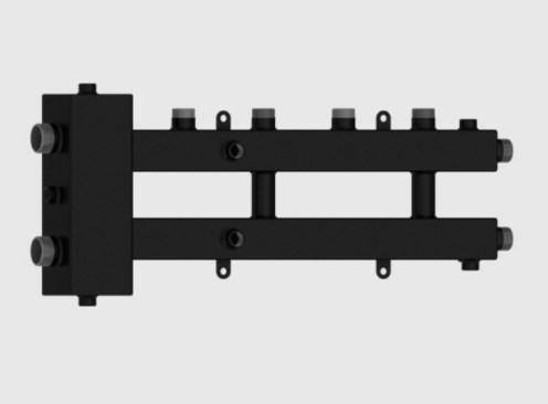Гидравлический разделитель совмещённый с коллектором Север-М2+1 фото4