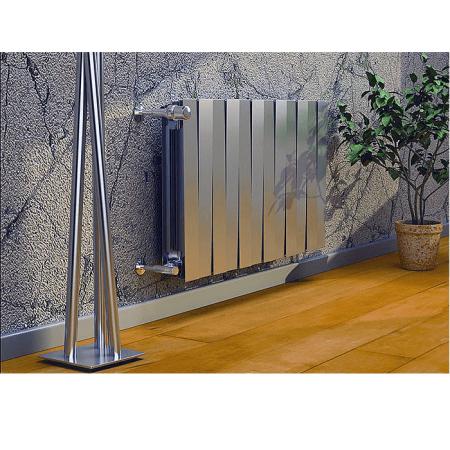 Радиатор биметаллический Royal Thermo PianoForte 500 Silver Satin (серебро) фото3