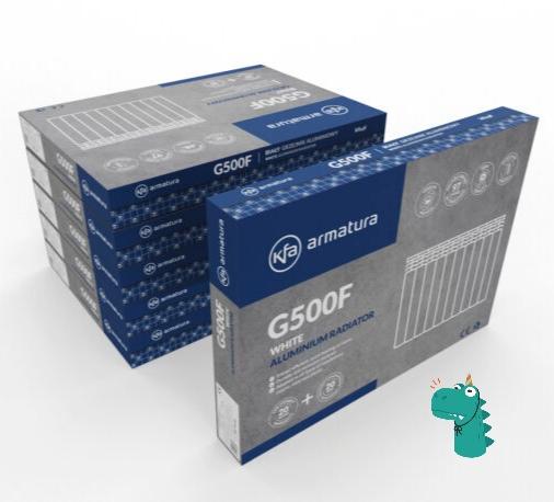 Алюминиевые радиаторы Armatura G500D/10 фото3