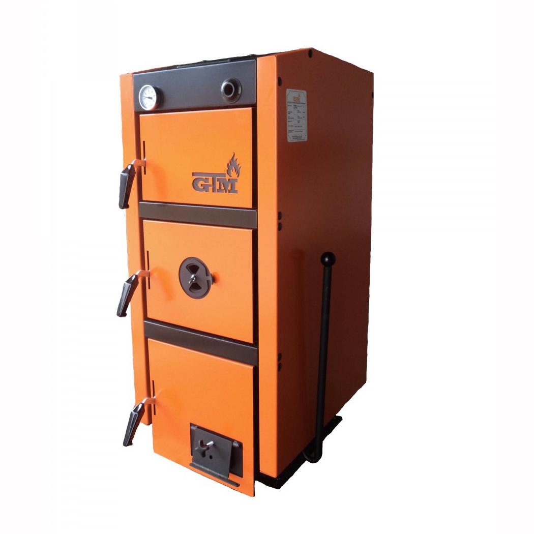 Твердотопливный котел GTM Master SE 30 кВт фото2