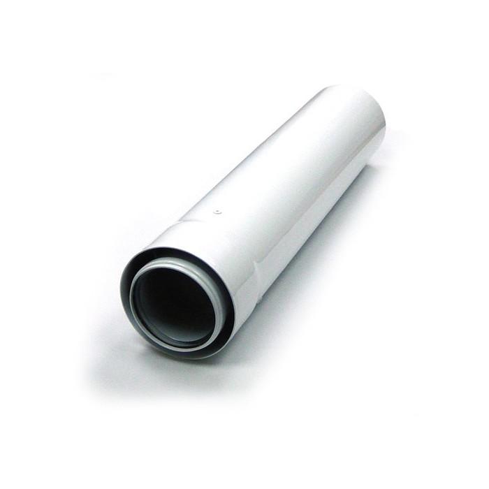 Удлинитель коаксиального дымохода 60/100 0,5 метра фото1