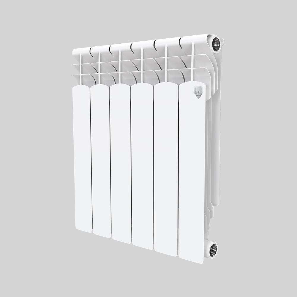 Алюминиевый радиатор Royal Thermo MONOBLOCK А 500 8 секций фото1