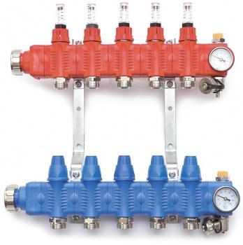 Гребенка для теплого пола Salus SRTZTP PP-GF (Коллектор) фото1