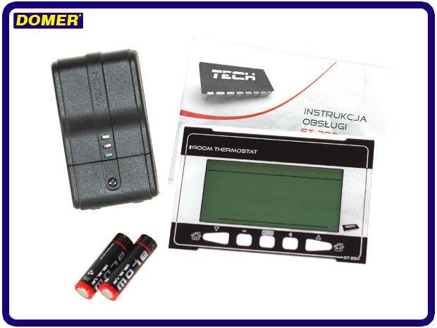 Терморегулятор недельный программируемый беспроводной Tech ST 290 V2 фото2