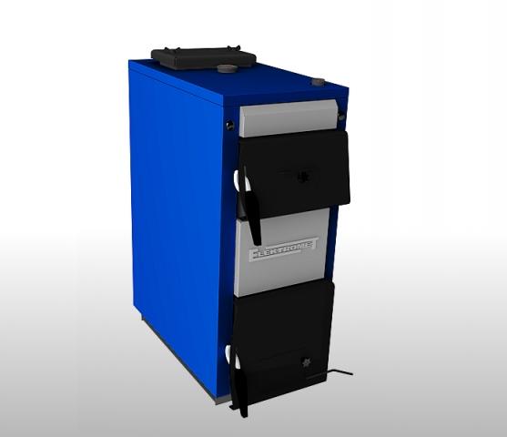 Твердотопливный котел Elektromet EKO-KWS 14 фото1