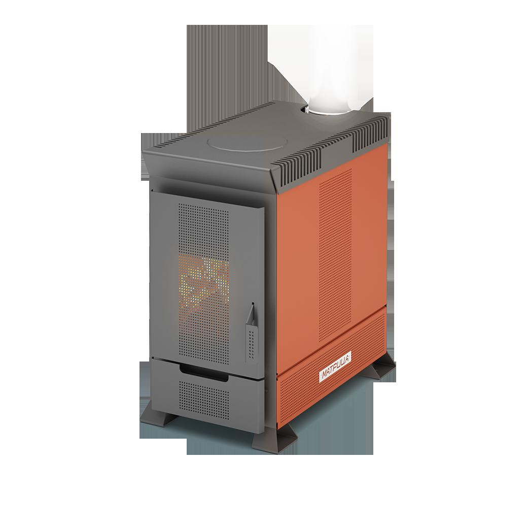 Отопительная печь Теплодар Матрица-100 фото1