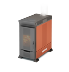 Отопительная печь Теплодар Матрица-200