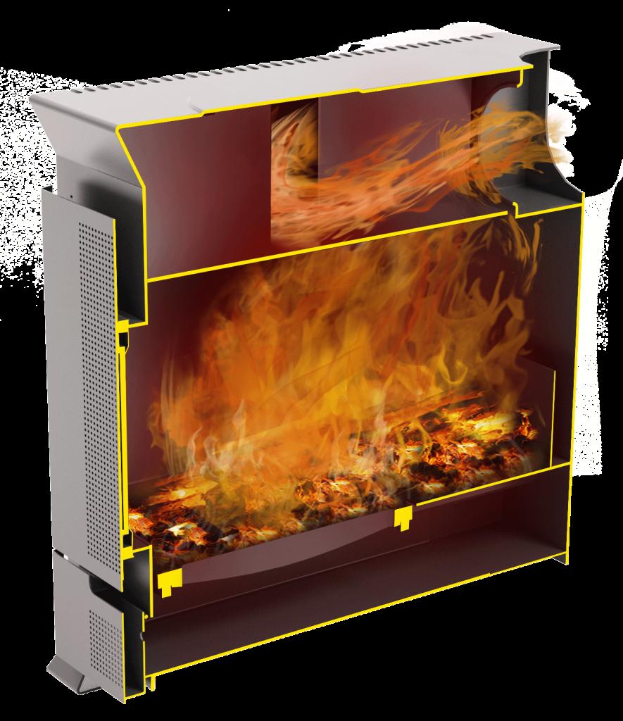 Отопительная печь Теплодар Матрица-200 фото2