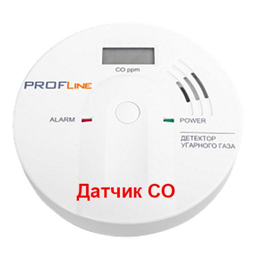 Датчик угарного газа ProfLine SFT-111-LCD фото1