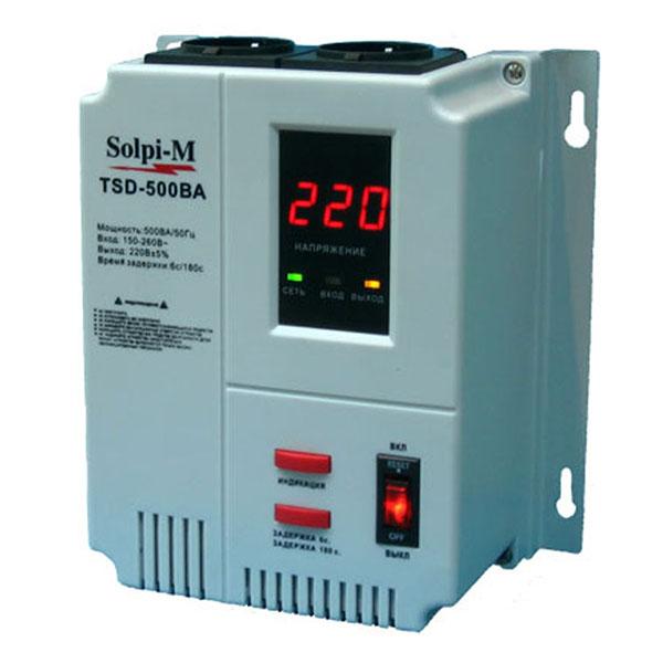 Стабилизаторы напряжения Solpi-M TSD-500ВА фото1