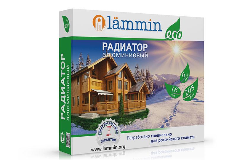 Алюминиевые радиаторы Lammin ECO AL-500 фото3