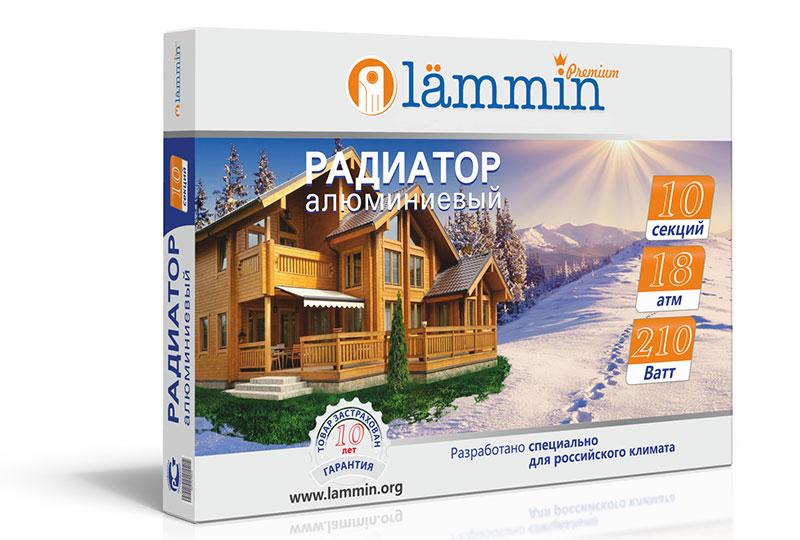 Алюминиевые радиаторы Lammin Premium AL-500-100 фото3