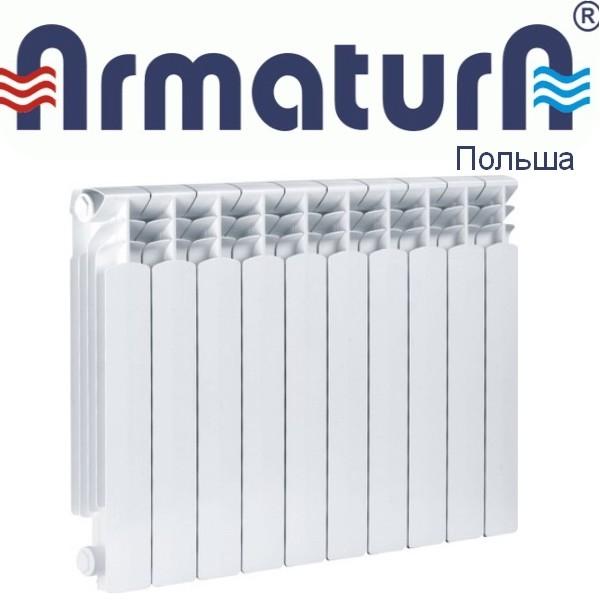 Алюминиевые радиаторы Armatura G500F/6 фото2