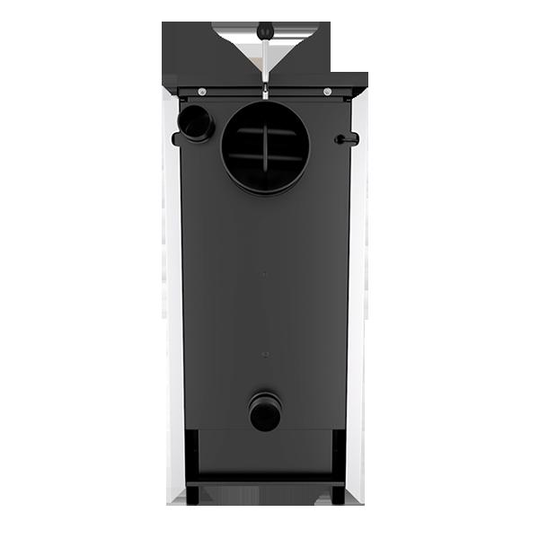 Твердотопливный котел Лемакс Форвард 12,5 кВт. Верхняя Загрузка! фото3