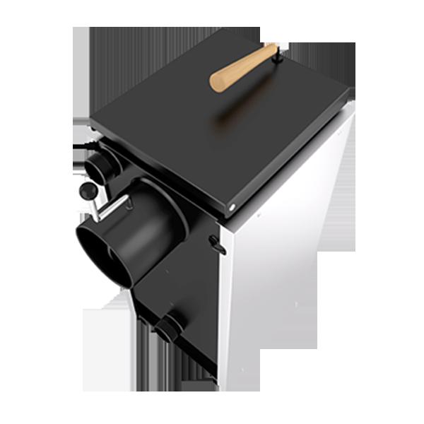 Твердотопливный котел Лемакс Форвард 12,5 кВт. Верхняя Загрузка! фото4