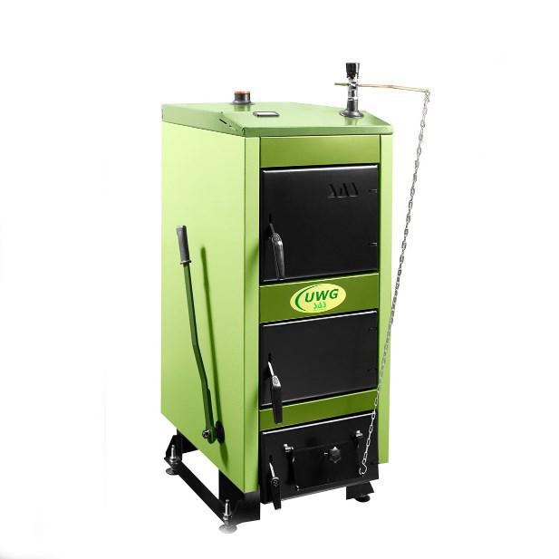 Твердотопливный котел SAS UWG 9 кВт фото1