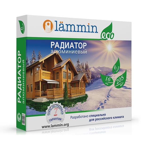Алюминиевые радиаторы Lammin ECO AL-500-100 фото3