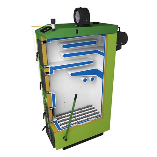 Твердотопливный котел SAS UWT 14 кВт фото2