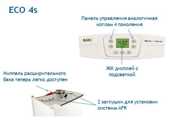 Газовый котел BAXI ECO-4s фото3
