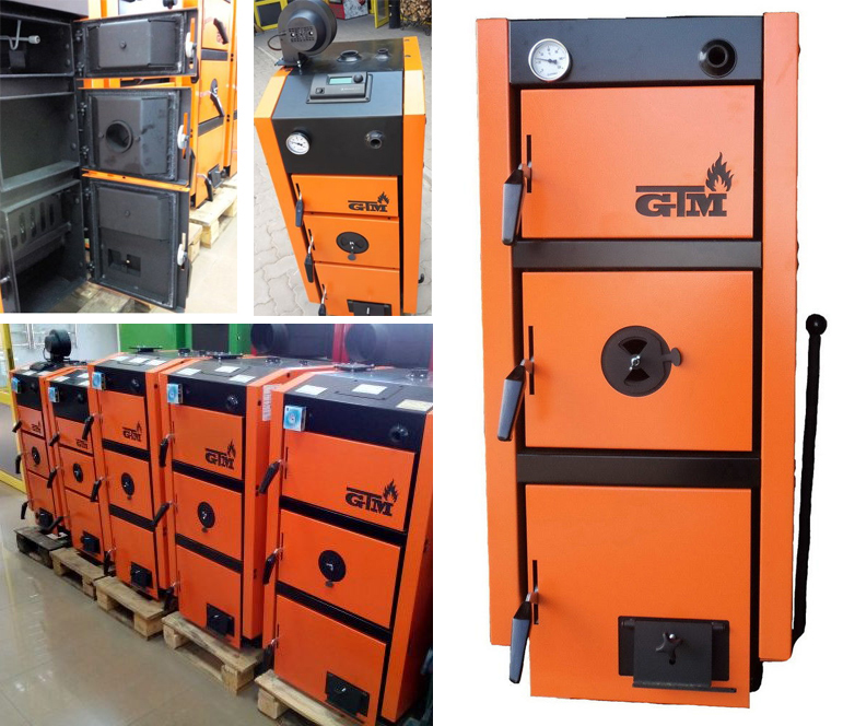 Твердотопливный котел GTM Master SE 24 кВт фото5