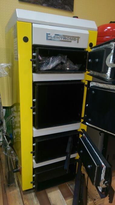 Твердотопливный котел Elektromet KWS KOMFORT фото2