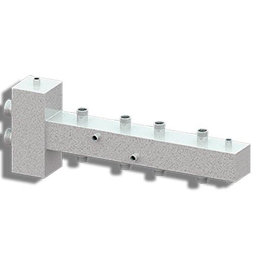 Гидравлический разделитель совмещённый с коллектором Север-T4 фото1