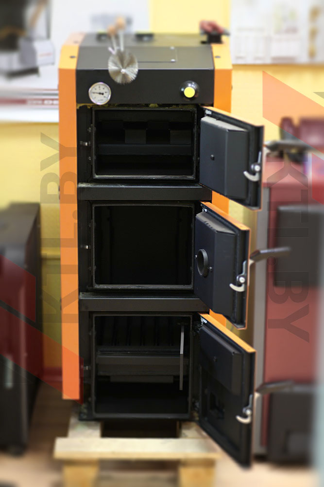 Твердотопливный котел GTM Master SE 17 кВт фото6