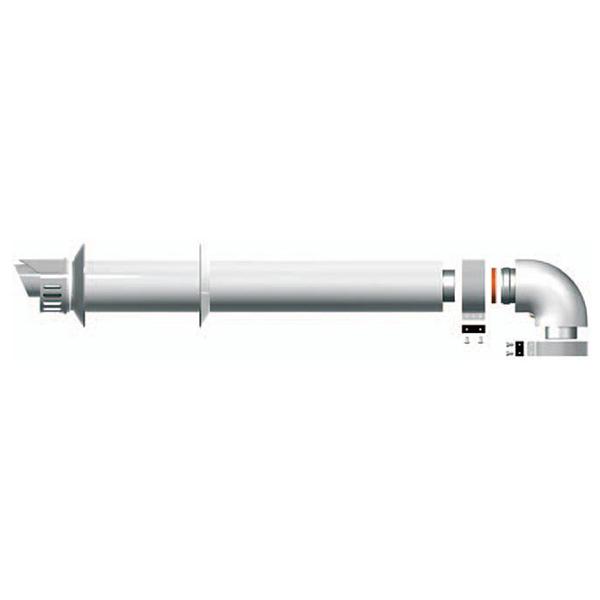 Коаксиальный дымоход для котла Baxi фото1