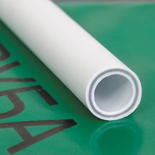 Труба ПП стекловолокно 25х4,2 PN25 белый РосТурПласт 2 метра фото1