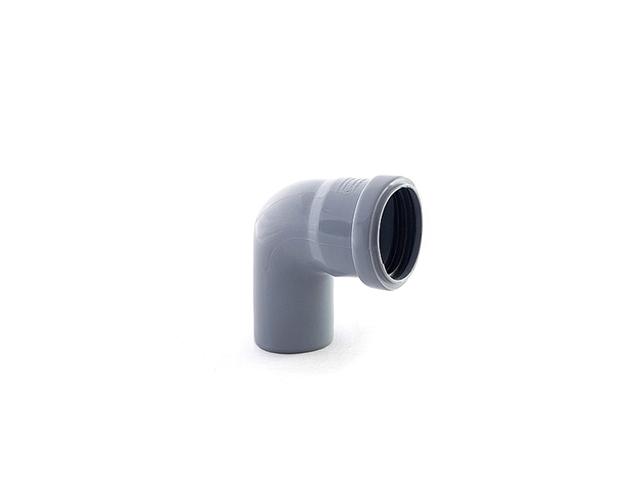 Колено для внутренней канализации 40х87 РосТурПласт (Отвод 40х45) фото1