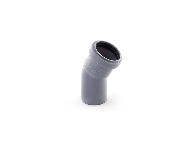 Колено для внутренней канализации 50х15 РосТурПласт (Отвод 50х15) фото1