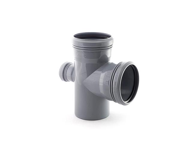 Крестовина для внутренней канализации  110/110/50х87 РосТурПласт (Крестовина 110х110х50х90) фото1