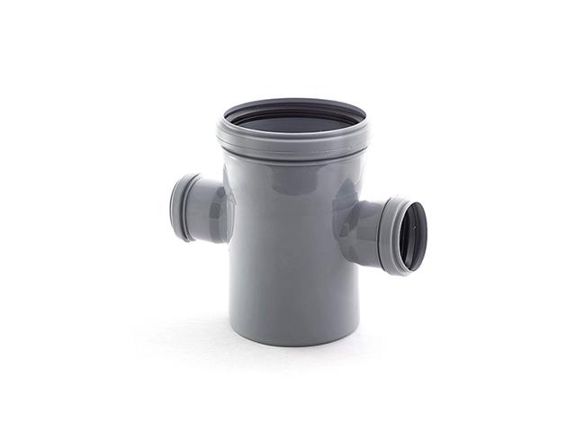 Крестовина для внутренней канализации  110/50/50х87 РосТурПласт (Крестовина 110х50х50х90) фото1