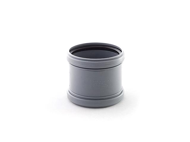 Муфта для внутренней канализации d 50 РосТурПласт (Муфта служит для соединения канализационных труб, не имеющих раструба.) фото1