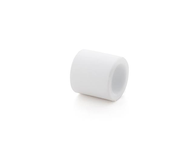 Муфта ПП 40 PN 25, белый РосТурПласт фото1