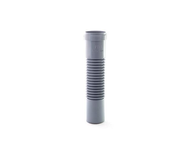 Патрубок гибкий для внутренней канализации d 50 РосТурПласт (Гофра труба.) фото1