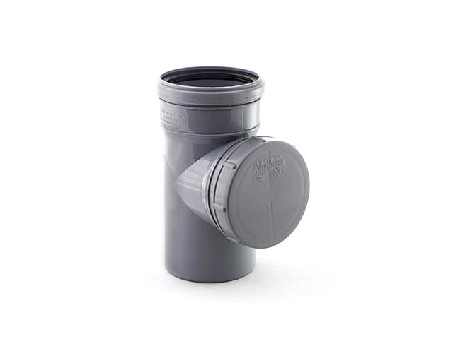 Ревизия для внутренней канализации d 110 РосТурПласт (Ревизия 110) фото1