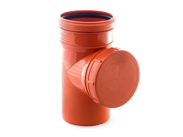 Ревизия для наружной канализации 110 РосТурПласт (Ревизия нар. 110) фото1